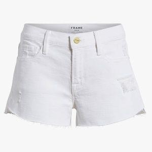 Blanc Rookley Frame denim shorts